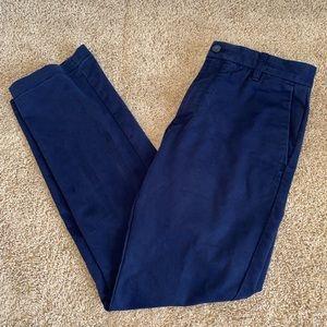 IZOD Slim Navy Pants